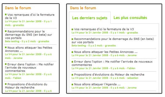 The Forum module