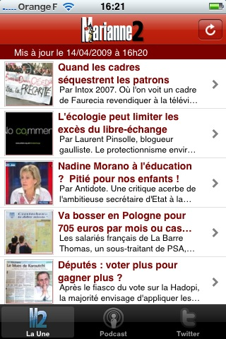 Apps iPhone for Marianne2