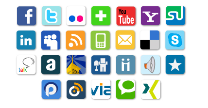 Be linked with your social networks thanks to the Web Services 2.0