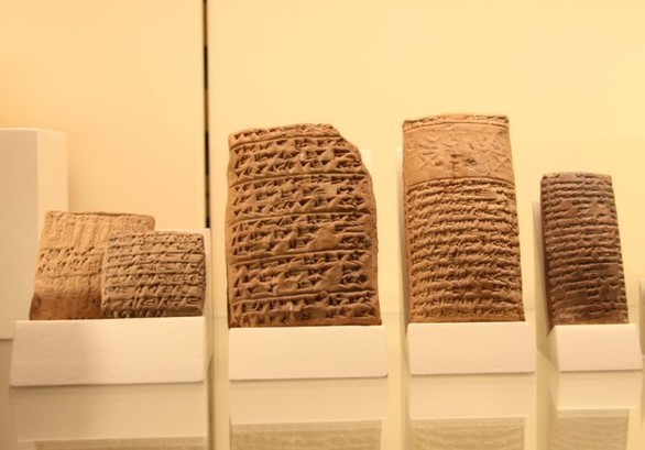 3000 years B.C. - Mesopotamian Tablets