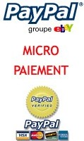 New Micropayment : Paypal