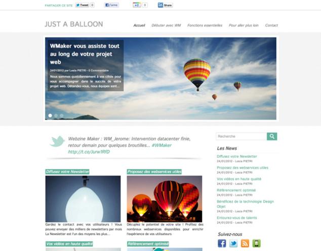 New theme: Balloon