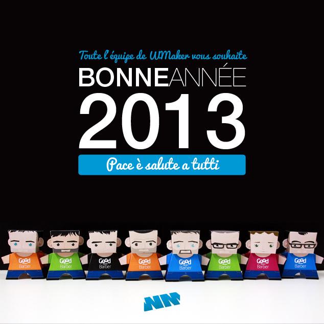 Happy New Year 2013 !