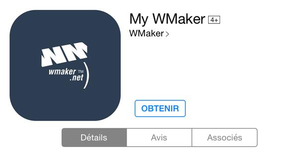 My WMaker App update on iOS