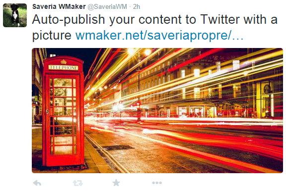 Auto-publish your content to Twitter with a picture