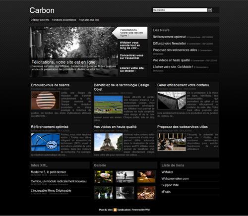 Carbon Template
