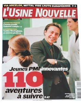 'Usine Nouvelle': Youngs innovatives Small and Medium Industry, 110 adventures to be followed