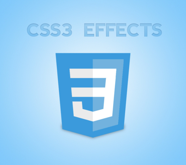 Effects on CSS3 Template: rounded edges and shadows