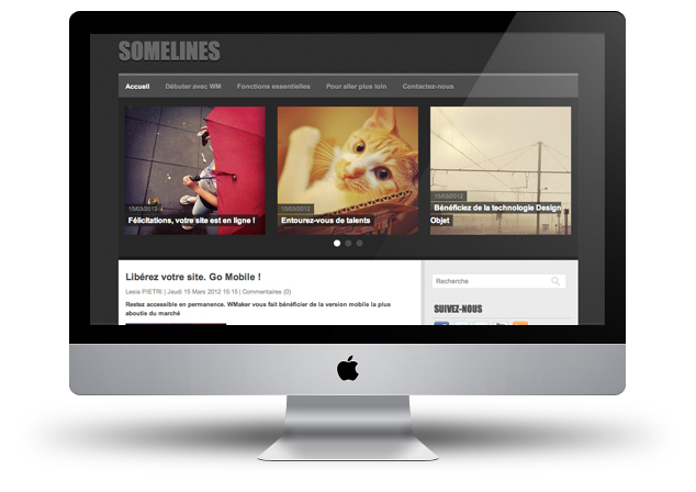 New theme: Somelines