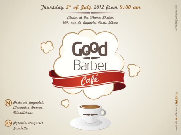 GoodBarber Café -  Thursday, July 5th in Paris