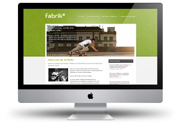 New theme: Fabrik
