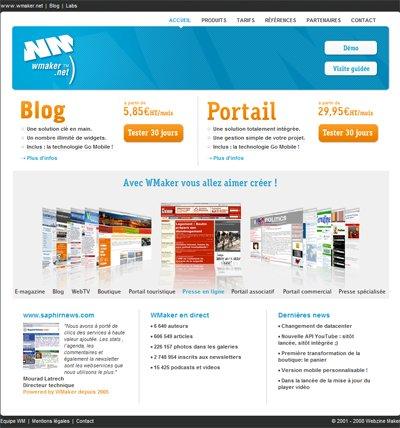 New portal WMaker.net