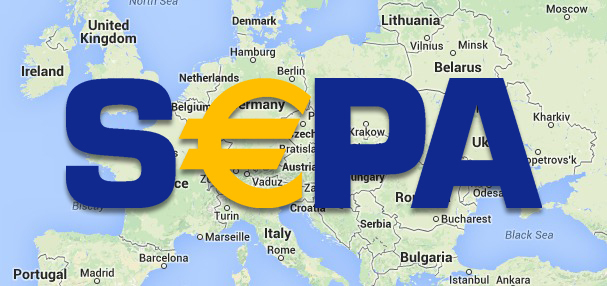 New direct debit: SEPA