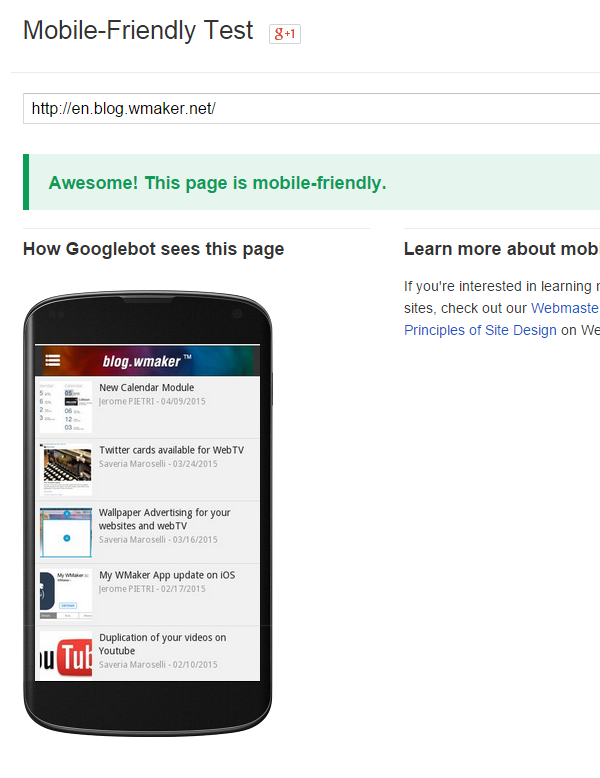SEO: Google update on April 21, modification concerning mobile versions