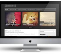 New theme: Somelines