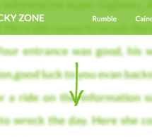 Stickyzone: Keep your logo always displayed!